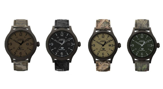 Mossy Oak Camo Timex Watches