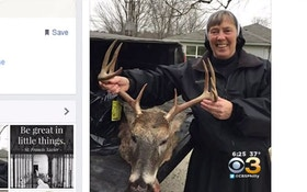 Nun's Picture With Trophy Deer Removed After Backlash