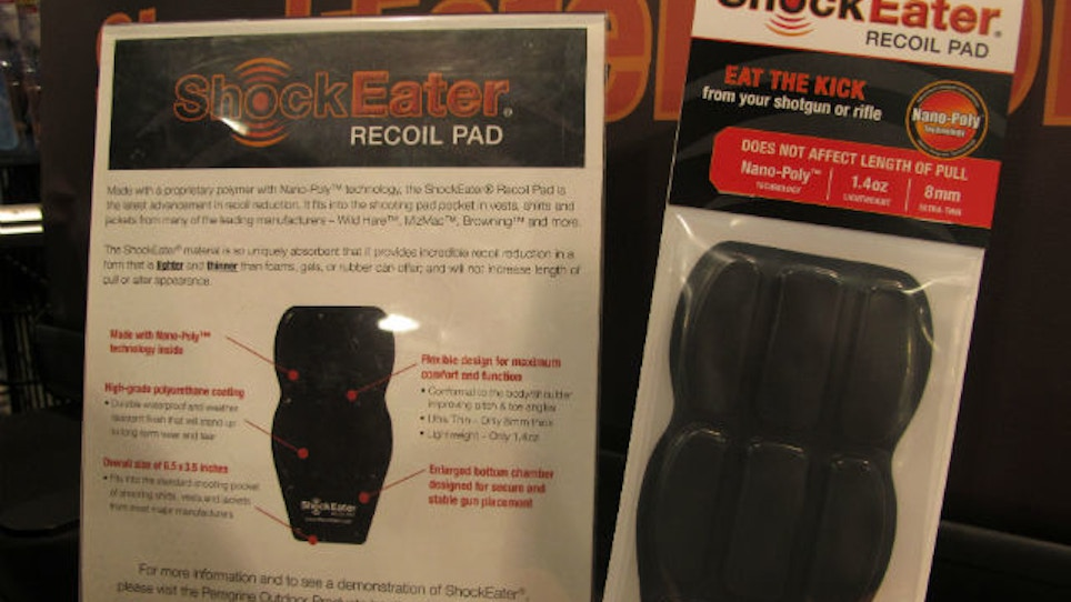 Kick Recoil To The Curb With ShockEater Recoil Pad