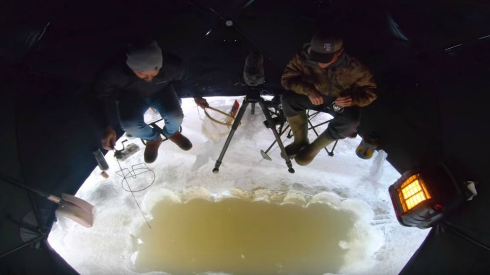 Video: Sight Fishing Tips for Winter Trout in Manitoba
