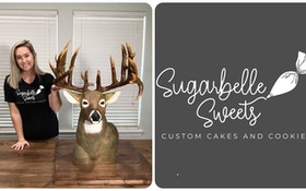 Replica Whitetail Buck — Crafted in a Cake!