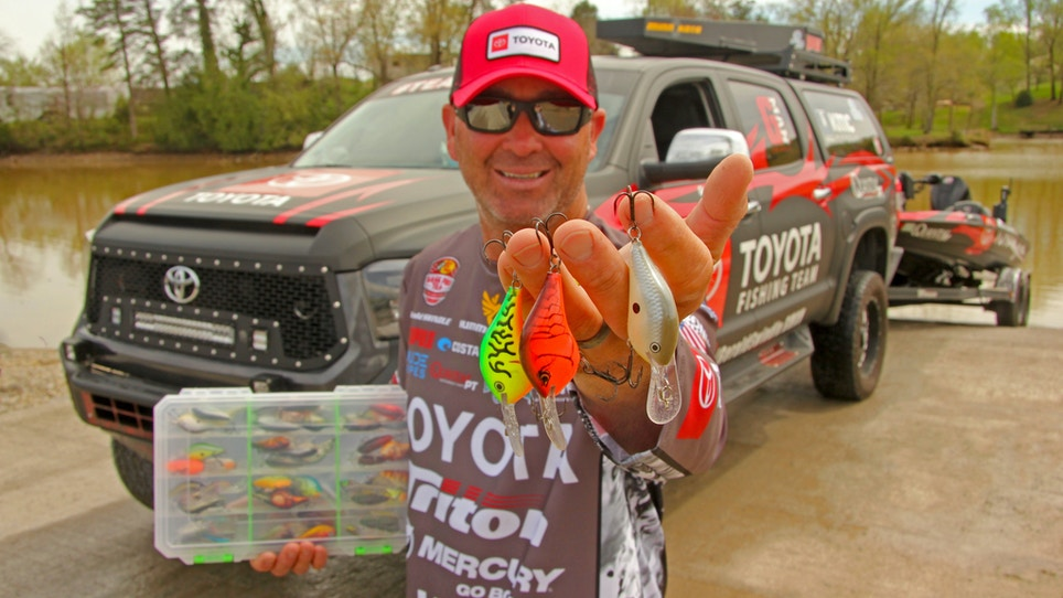 Bass Fishing Tip: Swindle Says You Need Only Three Crankbait Colors