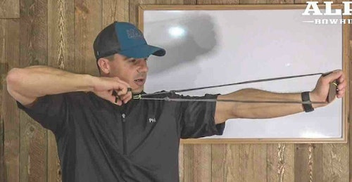 Learning to master a hinge-style release is a big part of the target panic/buck fever puzzle. The author actually hunts with a hinge, and feels it has really boosted his success.