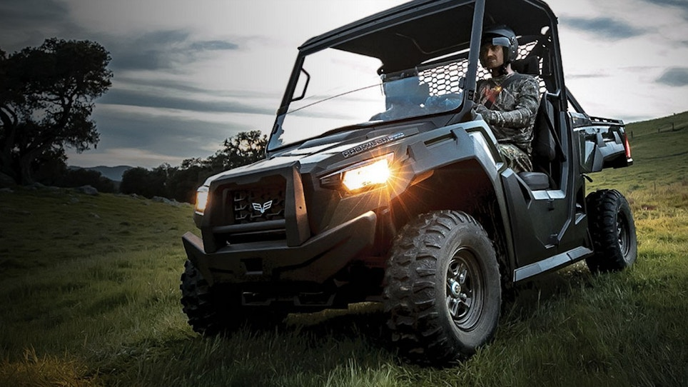 The All-New Prowler Pro Side-by-Side From Textron Off Road