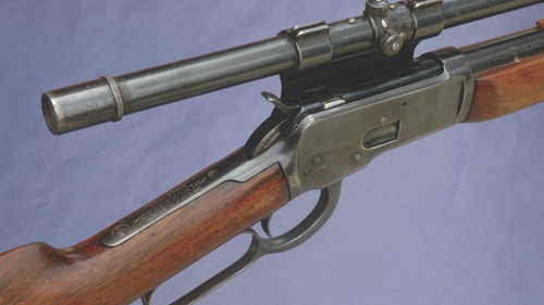 Adding a riflescope to a lever-action rifle may make some traditionalists cringe, but it definitely can be helpful when you're hunting. (Photo: Wayne van Zwoll)