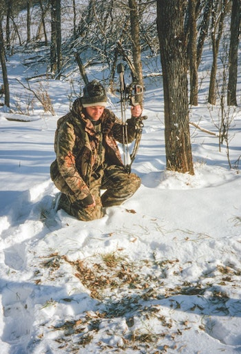 The author spends a lot of time still-hunting deer after waking to discover freshly fallen snow. This has led to the discovery of countless productive stand spots, preferred bedding areas and overlooked honey-holes.