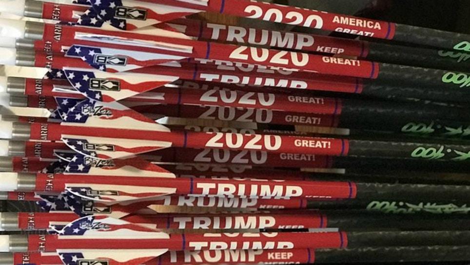 ArrowTech Archery Trump 2020 Arrow Wraps