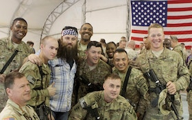 GALLERY: Duck Dynasty stars visit troops