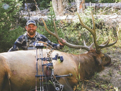 The author with a Utah public land bull.
