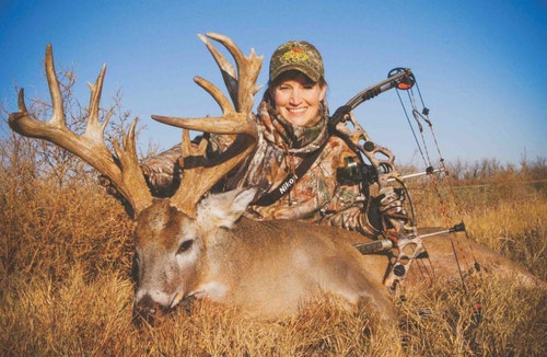 Though bucks like Vicki Cianciarulo's 203-inch monster don't hide behind every bush in Colorado, bowhunters annually tag impressive bucks on the prairies and riparian habitat in the state's eastern sector.