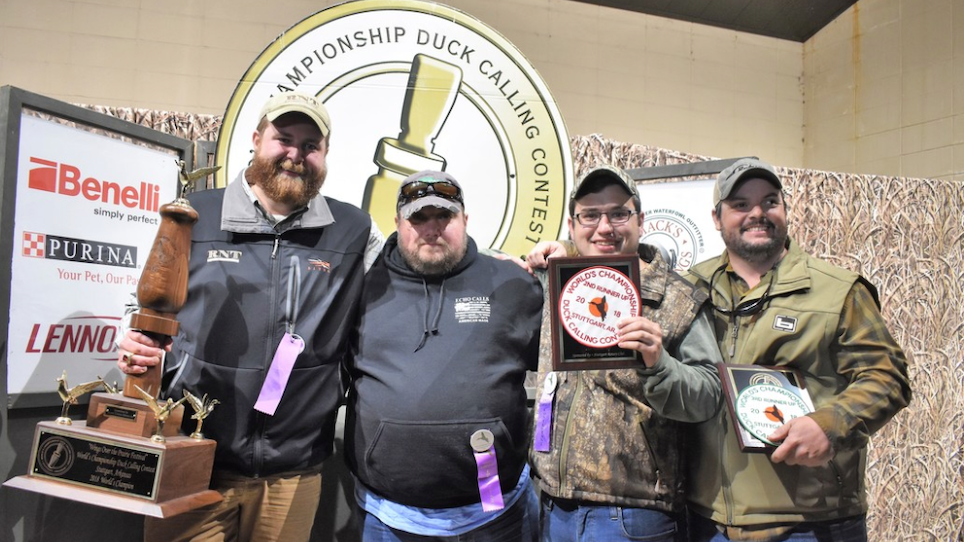 Worlds Championship Duck Calling Contest Winner Claims Third Title, Retires