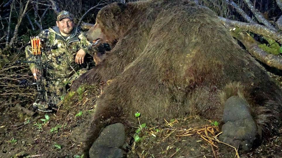 New Archery World Record Alaska Brown Bear
