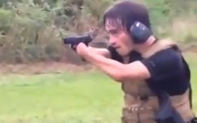 "VIDEO: Shooter With No Hands, Just ""Nubs"" At The Range"