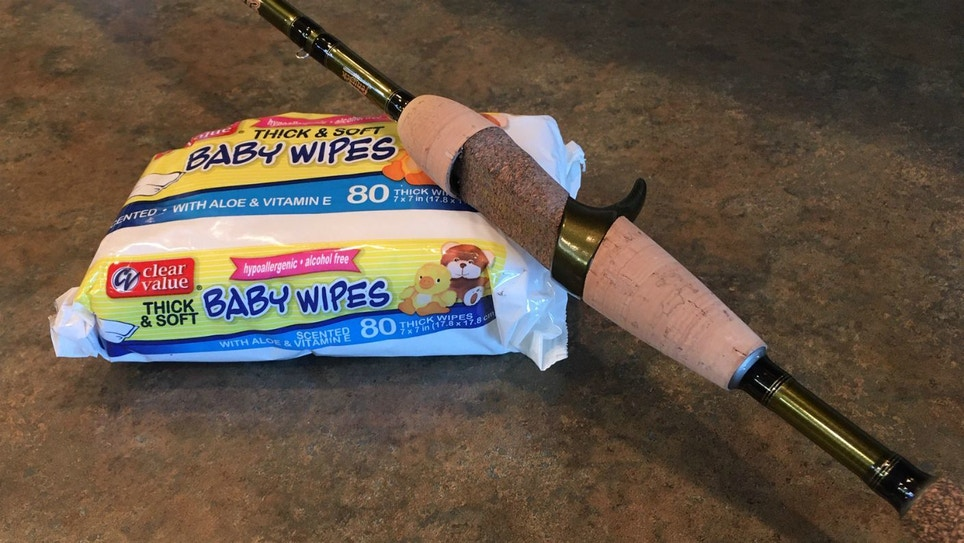 Fishing Rod Care: How to Clean Cork Handles