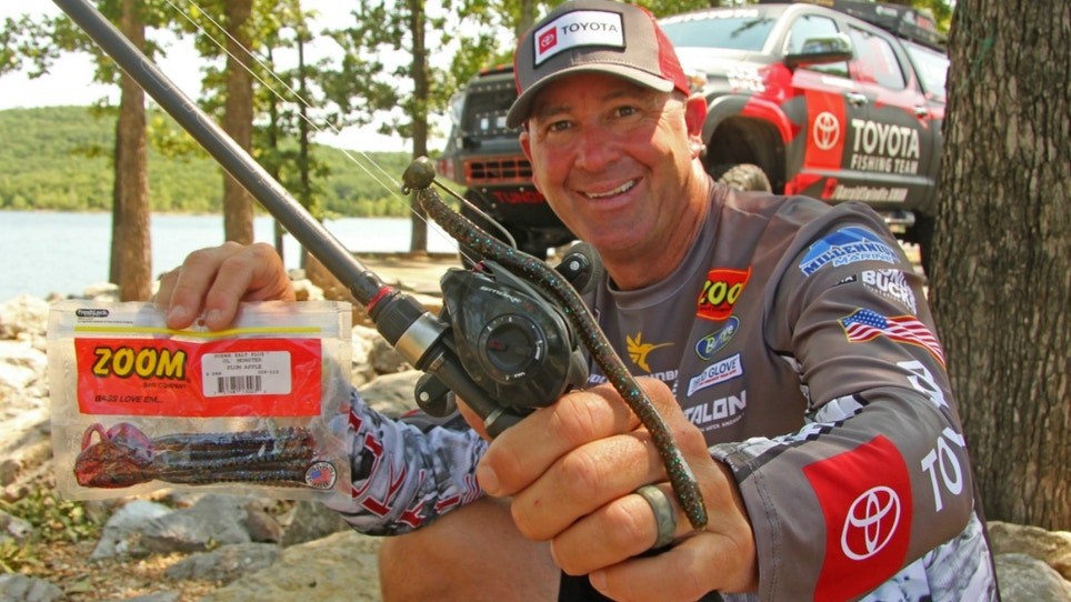 How To Catch Bass in Summer on Giant Worms