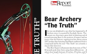 "Bow Report: Bear Archery ""The Truth"""