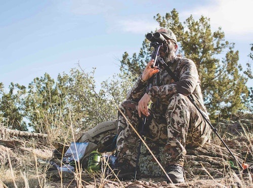 Glassing with a tripod will up your game-spotting skills. For finding Coues deer, it's a must.