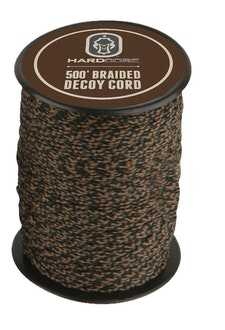 Purchasing braided decoy cord in bulk is a cost effective way to make dozens of bow hauling ropes.