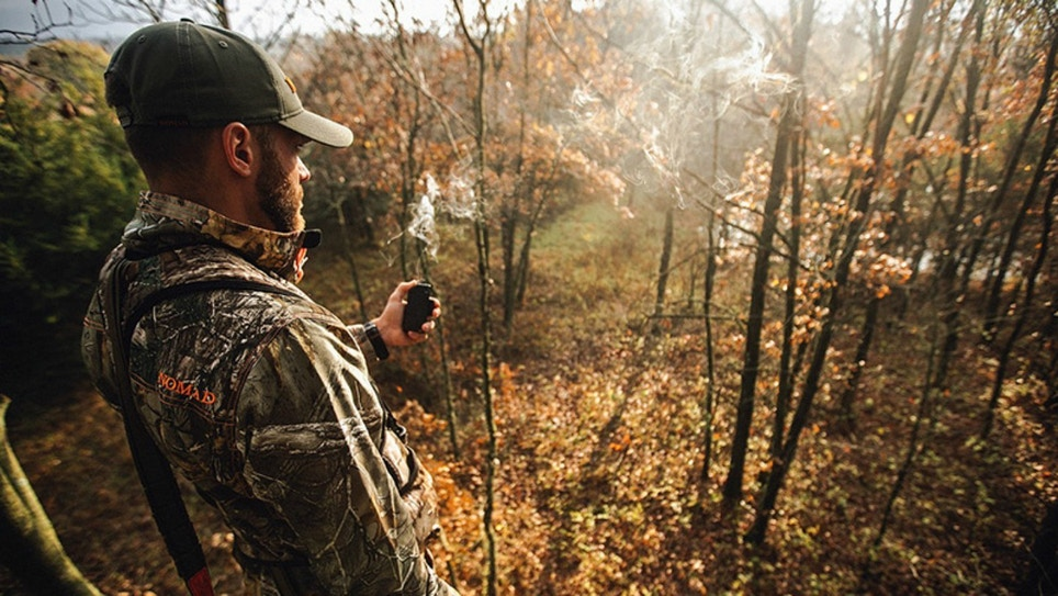 Use Natural Barriers to Stay Downwind of Whitetails