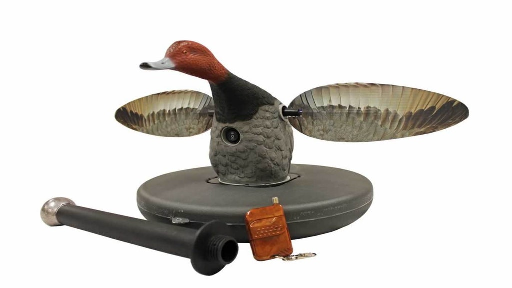Elite Series Redhead Floater decoy with threaded stabilizing bar and 14-ounce lead weight.