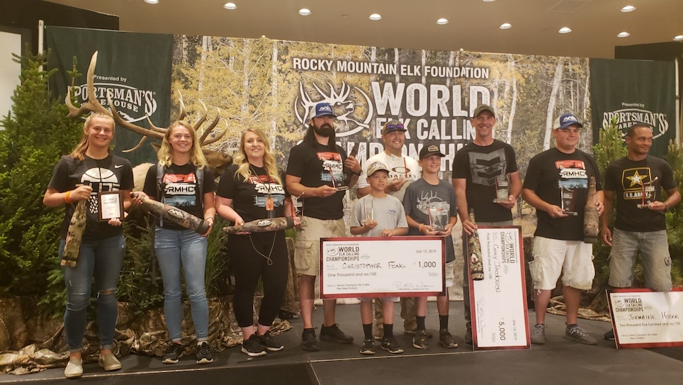 2019 World Elk Calling Championships Dominated by Rocky Mountain Hunting Calls