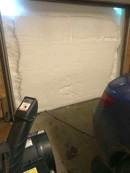 Grab a shovel? Think a snowblower can handle the job? No and no. (Photo courtesy of Minnesota meteorologist Blaise Keller.)