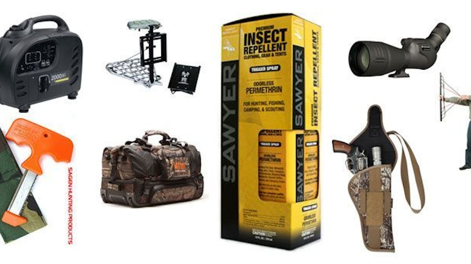 What's new in deer hunting gear and gadgets?