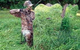Ground blinds provide great cover for deer hunting