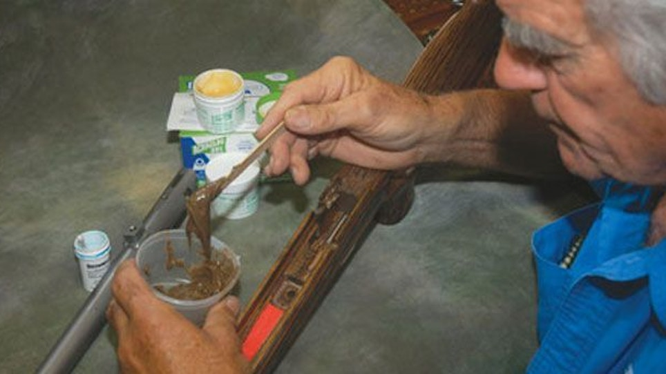 Glass bed your muzzleloader for better accuracy