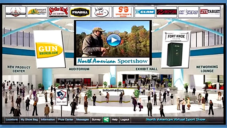 North American Sportshow Delivers Top Outdoor Brands With The Click Of A Mouse