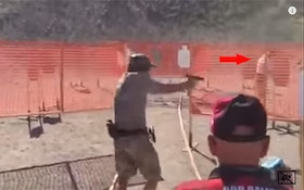 Video: Competitor Nearly Shoots Man Collecting Brass
