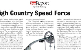 Bow Report: High Country Speed Force