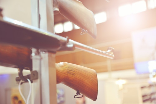 While some U.S. retailers are phasing out their firearms categories, the Trump administration has made it easier for U.S. firearm manufacturers to sell firearms overseas. Photo: iStock