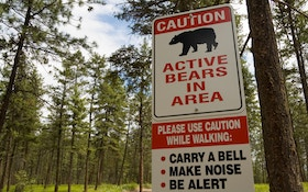 Dog Chases Away Bear After Owner Attacked