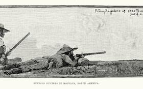 Black Powder Shooting Game Inspired By Buffalo Hunters