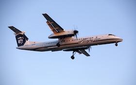 Alaska Airlines Plane Collides With, Kills Deer in California