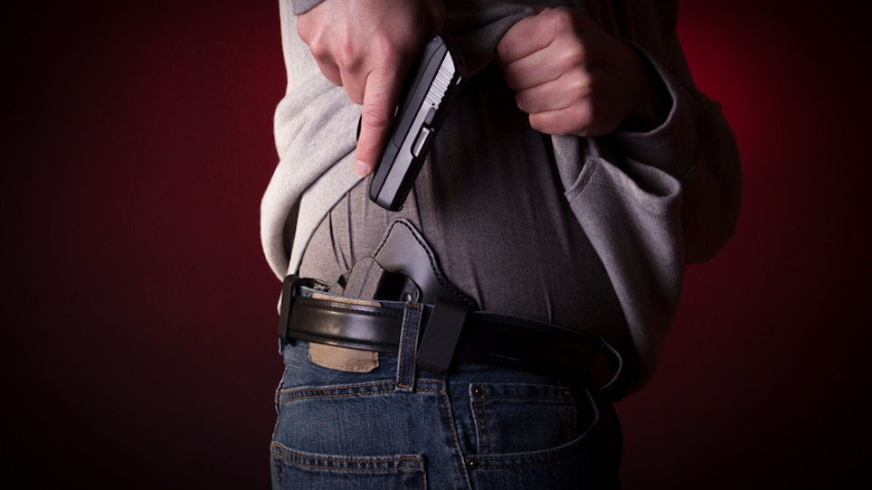 California Court Finds No Constitutional Protection For Concealed Carry
