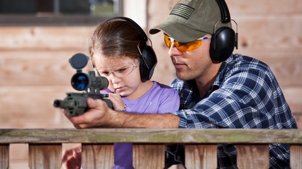 Get Kids Shooting With AR Rifles