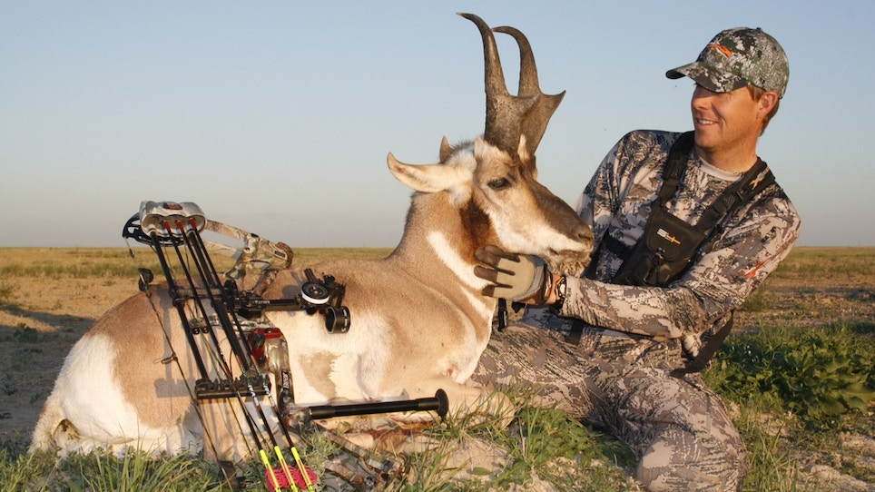 How To Harvest Public-Land Pronghorn Over Water