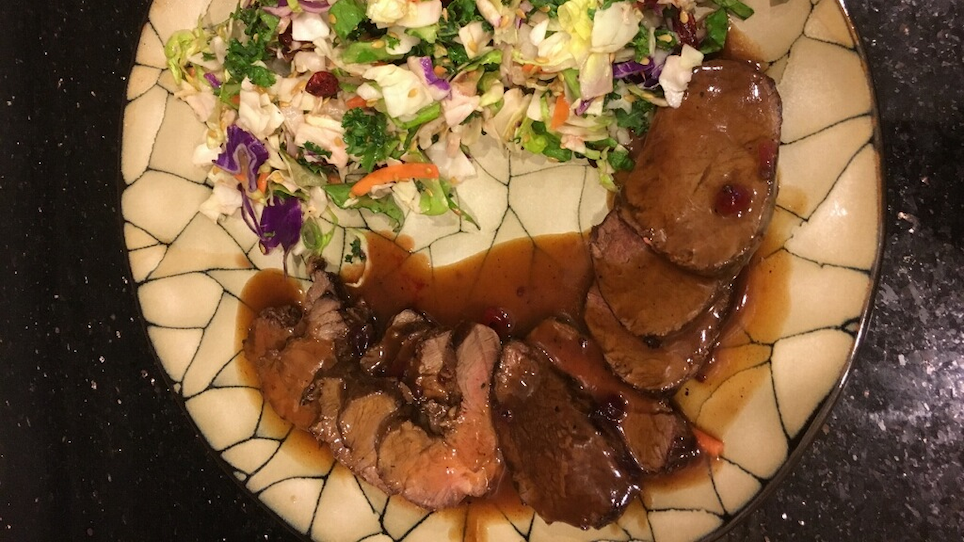 Dall Sheep Tenderloin with Port Wine Sauce Recipe