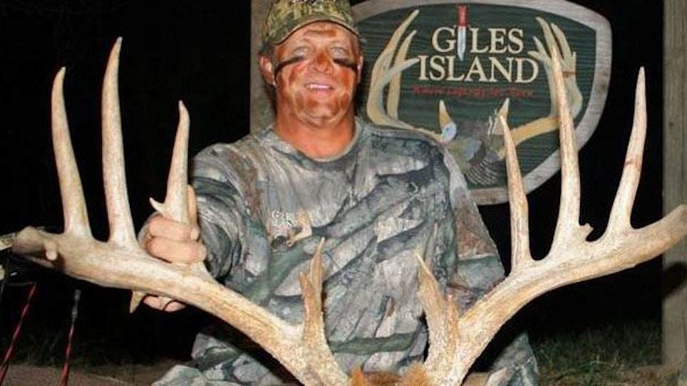 """180"""" Monster Buck Falls In Mississippi"""