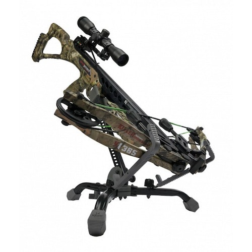The Hawk Kwik-Grab also works well for hunters in ground blinds.