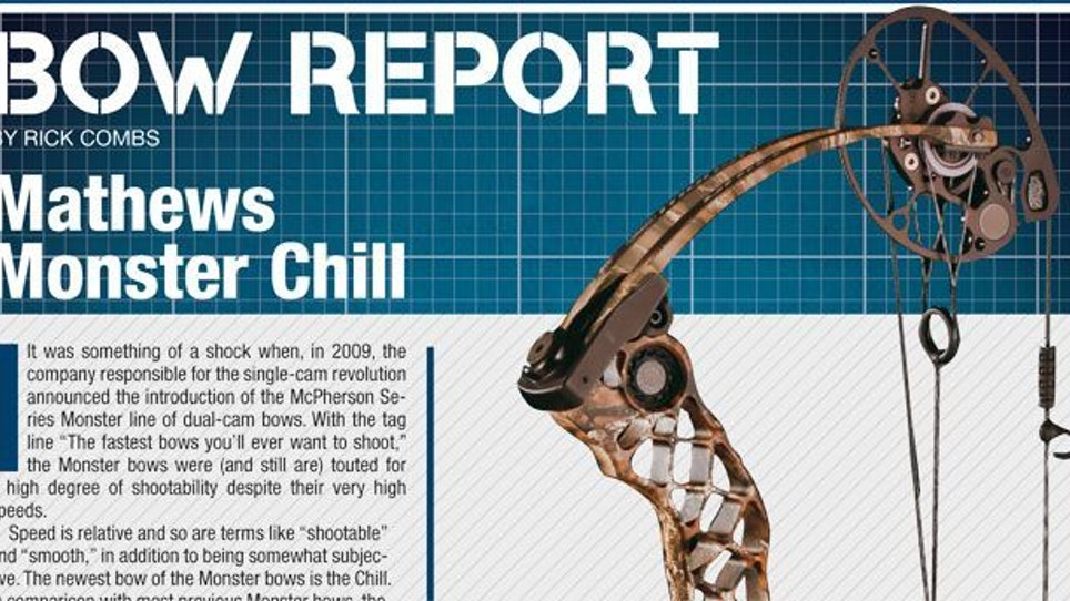 Bow Report: Mathews Monster Chill