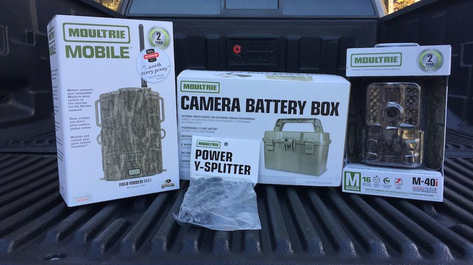 Tech-savvy trail camera options