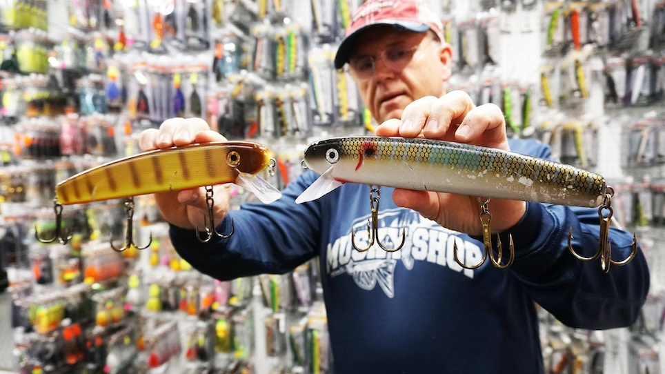 Think You Know Today's Popular Muskie Lures? Take the Quiz!