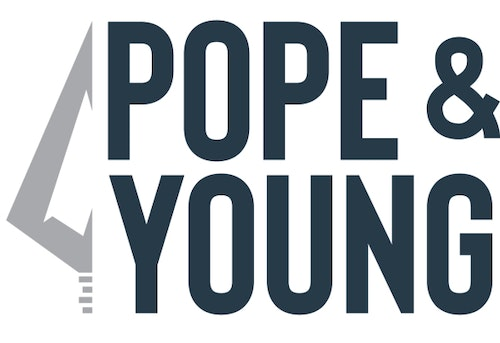 Part of Pope and Young's rebrand includes this new logo.