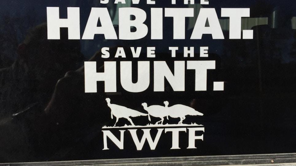 NWTF 'Save The Habitat, Save The Hunt' Program A Winner