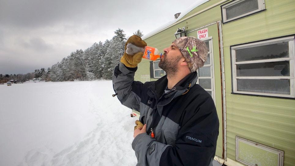 Orange Soda is the Flavor of Fishing