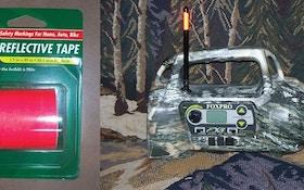 Predator Hunting Tip — Reflective Tape