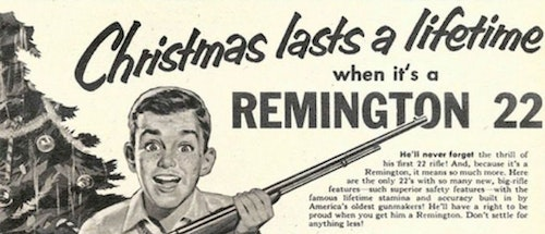 You would not ask your child to play a basketball game with shoes two sizes too large. The same logic applies to the rifle they'll shoot. Photo: Remington Arms